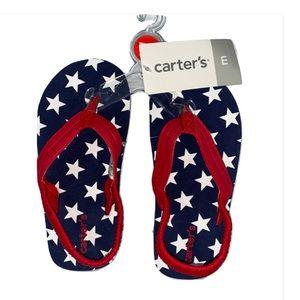 🆕 Carter's Stars Flip Flop